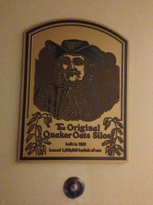 So Quaker Oats had a roo(t)s (University of Akron joke) in Akron huh? Sweet.