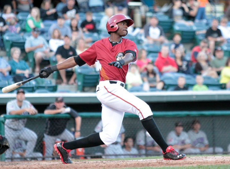 Gregory Polanco is the best prospect in the Pirates' system according to Baseball America (Photo: Mark Olson)