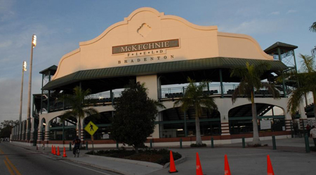 Beautiful McKechnie Field, Spring Training Home of the Pittsburgh Pirates (Photo: Bradenton Marauders)