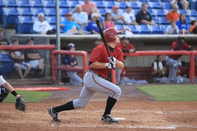 Justin Howard will rejoin the Curve this season and split time between first base and left field (Credit: Gordon Donovan)