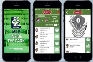 "The new ""MiLB In The Park"" app gives fans the most interactive experience yet."