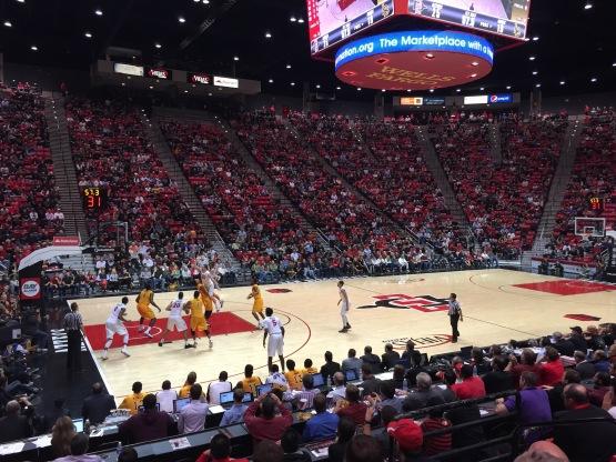 SDSU Basketball Game
