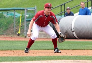 Curve infielder Dan Gamache (Mark Olson / MiLB)