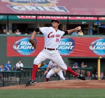 Curve pitcher Zack Dodson (Mark Olson / MiLB)