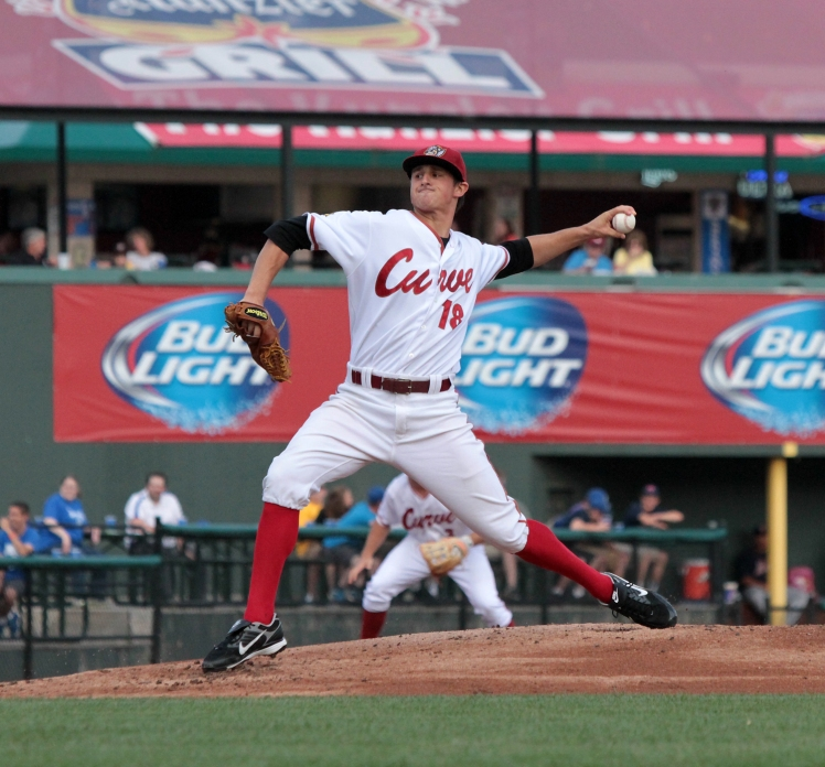 Curve pitcher Zack Dodson (Mark Olson / MiLB)