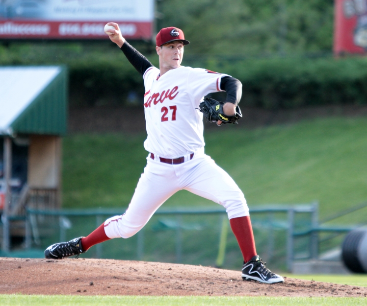 Curve pitcher Jason Creasy (Mark Olson / MiLB)