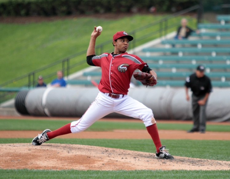 Angel Sanchez returns to the Curve in 2015 after bouncing around several organizations last season (Mark Olson / MiLB)