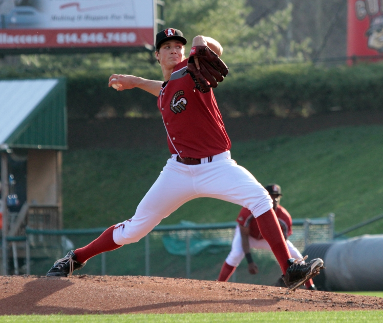 Curve pitcher Tyler Glasnow (Mark Olson / MiLB)