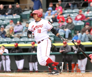 First baseman Jose Osuna is back with the Curve in 2016 (Photo: Mark Olson/MiLB)