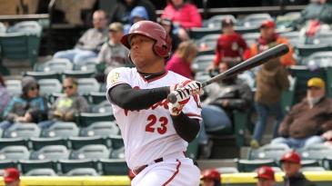 Harold Ramirez led the Florida State League in hitting in 2015 with a .337 average (Photo: Mark Olson/MiLB)
