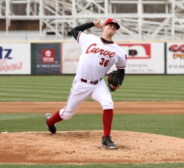 Tyler Eppler is off to a strong start this season for Altoona. (Photo: Mark Olson/MiLB)