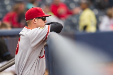 Barely 21 years old, Austin Meadows had little trouble mastering the tough transition to Double-A. (Photo: David Monseur/MiLB.com)