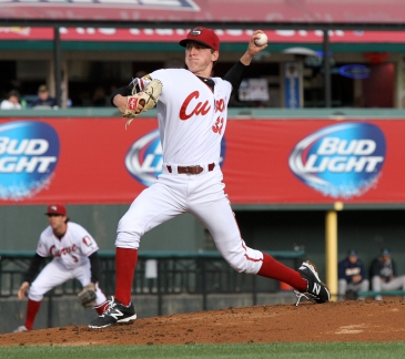 Brandon Waddell quickly climbed the ladder up to Double-A (Photo: Mark Olson/MiLB)