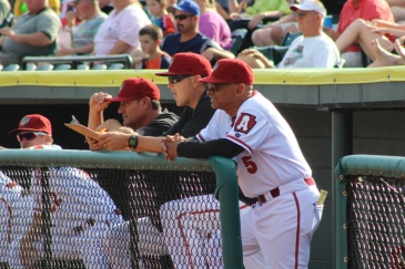 Manager Joey Cora has the Curve in position for the playoffs in his first season leading the club (Photo: Trey Wilson/Altoona Curve)