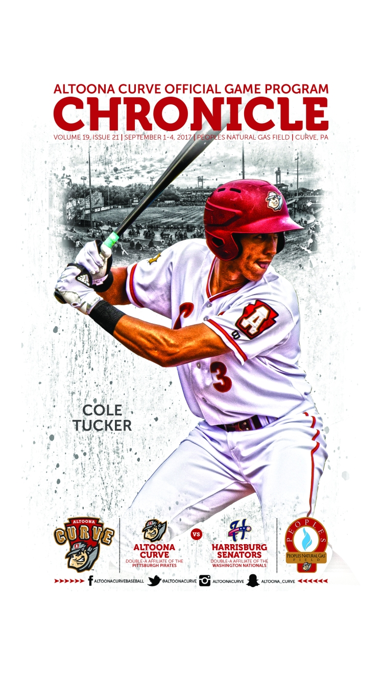 21 - Sept 1-4 Cole Tucker Harrisburg